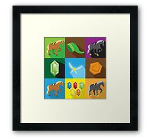 a Legendary Quilt Framed Print