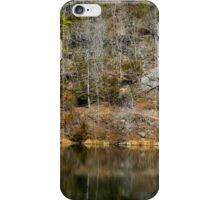 Black Bass Reflections iPhone Case/Skin