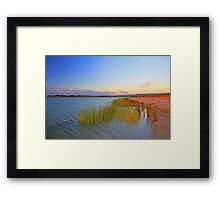 Champion Lake At Sunset  Framed Print