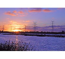 Champion Lake Sunset  Photographic Print