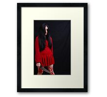 FEAR Alma 01 Framed Print