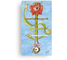 The Hanged Magus Canvas Print