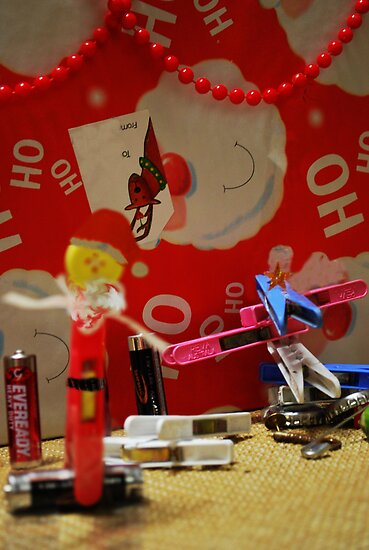 Santa is in da house by Erin-Louise Hickson