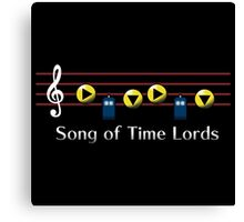 Song of Time Lords Canvas Print