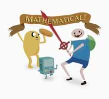 Mathematical Adventure Time! by S3NTRYdesigns