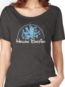 Kingdom Hearts Hollow Bastion Women's Relaxed Fit T-Shirt