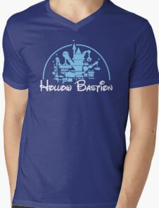 Kingdom Hearts Hollow Bastion Mens V-Neck T-Shirt