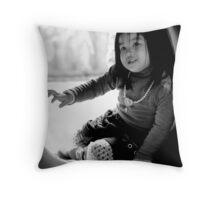 Hide & Seek Throw Pillow