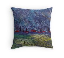 Factories Throw Pillow