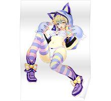 Just The Girl: Cheshire Neko Poster