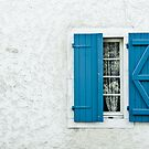 Blue Shutters by Alison Cornford-Matheson