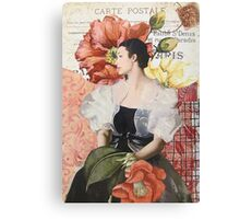 Carte Postale Canvas Print