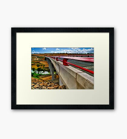 """Bridge on the River Moorabool"" Framed Print"