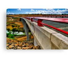 """Bridge on the River Moorabool"" Canvas Print"