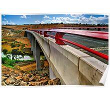"""Bridge on the River Moorabool"" Poster"