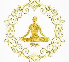 Yoga Golden by Pranatheory