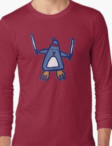 Penguin Ninja Long Sleeve T-Shirt