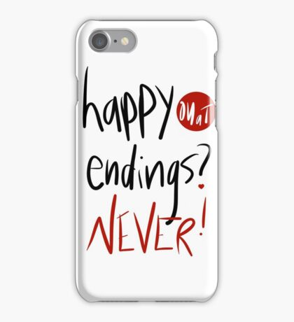 Happy endings?  iPhone Case/Skin