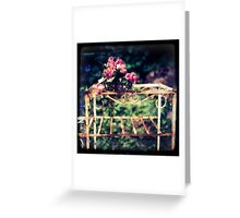 nothing lasts forever Greeting Card