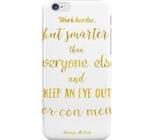 Scrooge McDuck quote Golden iPhone Case/Skin