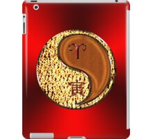 Aries & Tiger Yang Wood iPad Case/Skin