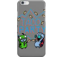 Taco Party iPhone Case/Skin
