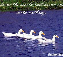 Ecclesiastes 5.15 by Sharon Robertson