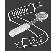 Group Love - White and Grey Edition Photographic Print