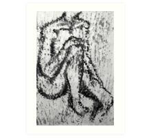 Fingerprint nude Art Print