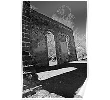 Biggins Church Ruins Poster