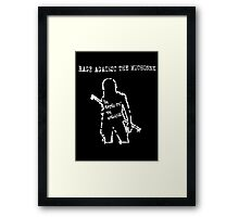 Rage Against The Michonne Framed Print