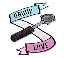 Group Love - Tri Colour Edition Photographic Print