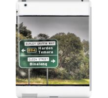 Cross Roads iPad Case/Skin