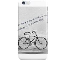 Only by riding iPhone Case/Skin