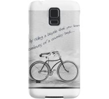 Only by riding Samsung Galaxy Case/Skin