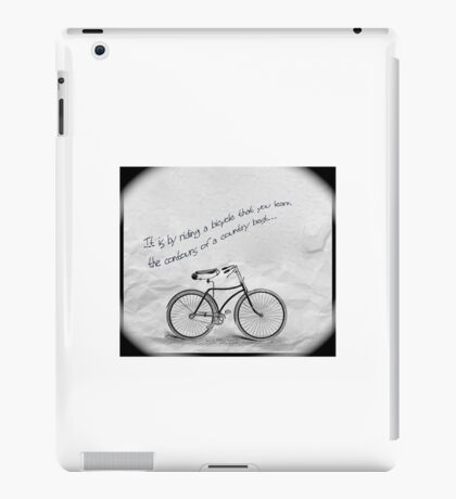 Only by riding iPad Case/Skin
