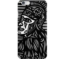 Labore Renaissance Greek Roman Black and White iPhone Case/Skin
