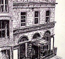 Old abbey Theatre, Dublin, Ireland by Alan Hogan