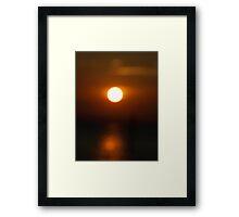 Mystery Sunset Framed Print