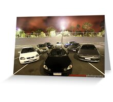Big Boys Toys Greeting Card