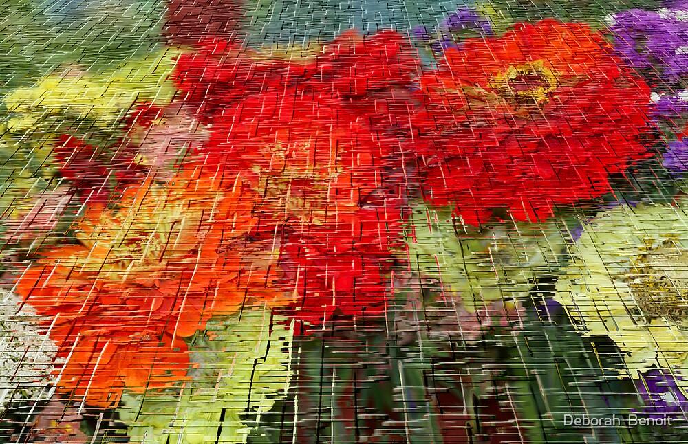 Bouquet Of Colors by Deborah  Benoit