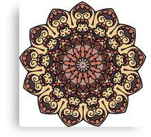 Home mandala Canvas Print