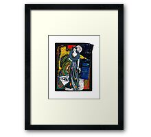 The Queen of the concrete Jungle Framed Print