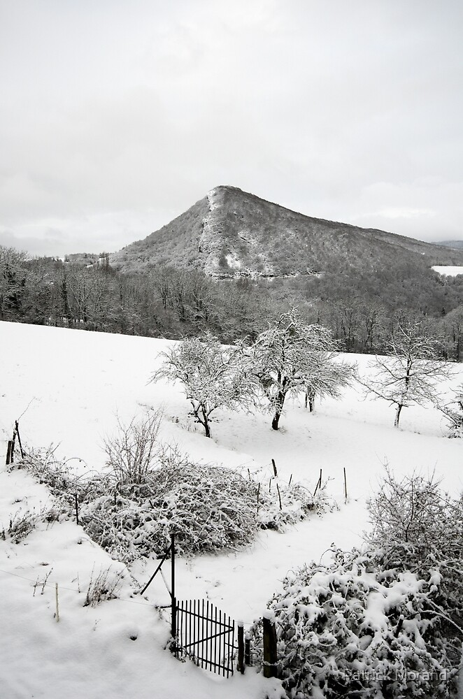 French countryside in the snow by Patrick Morand