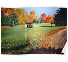 Autumn in Canada Poster
