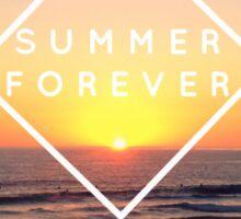 Summer Forever Sticker