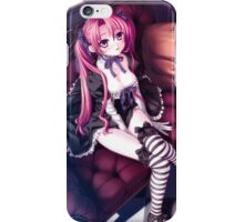 H-Scene: Beautiful Punk Girl iPhone Case/Skin