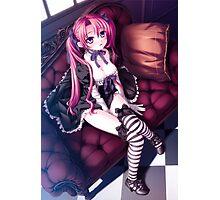 H-Scene: Beautiful Punk Girl Photographic Print