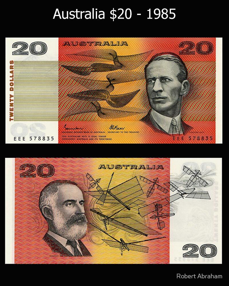 Australia $20 - 1985 by Robert Abraham