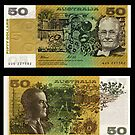 Australia $50 - 1991 by Robert Abraham